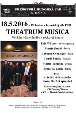 PHJ 2016: THEATRUM MUSICA [PKO 18.5.2016 o 19:00]