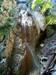Závojový vodopád, spodná časť