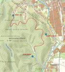 Lesopark Prešov, mapa