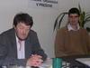Fedor Vico (vľavo) a P. Krajňák ml. priznali chyby, ale postup súdu sa im nepozdával