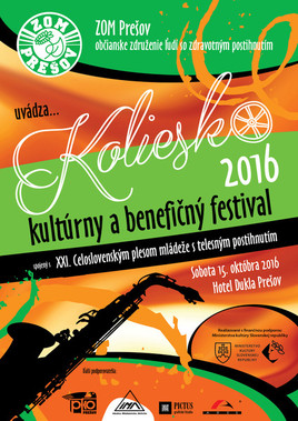 Koliesko 2016 - kultúrny a benefičný festival [Dukla 15.10.2016 o 18:00]