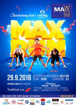 Charitatívny MAX RUN s Active life [ZOC MAX 29.9.2016 o 18:00]