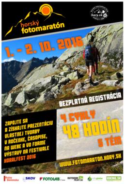 Horský fotomaratón 2016: Cyklus jeseň [iné 1.10.2016]