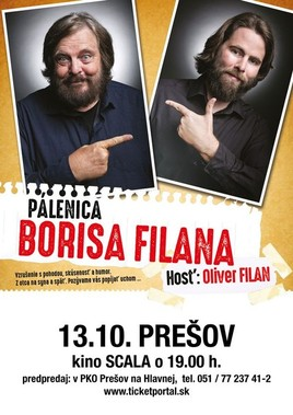 Pálenica Borisa Filana [SCALA 13.10.2016 o 19:00]