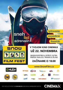 Snow film fest [CINEMAX 22.11.2016 o 18:00]
