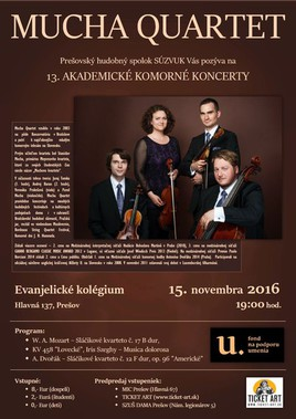 Mucha Quartet [ 15.11.2016 o 19:00]
