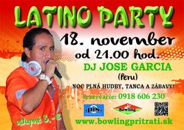 Latino party [Bowling 18.11.2016 o 21:00]