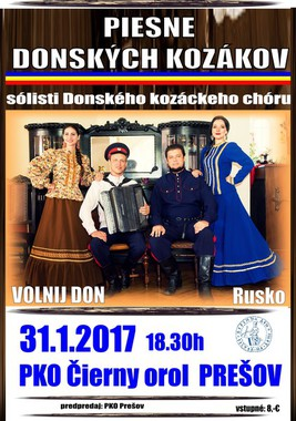 Piesne Donských kozákov [PKO 31.1.2017 o 18:30]