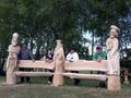 Drevársky plenér troch kráľov vznikol v rámci projektu Lenartovský rebriňák