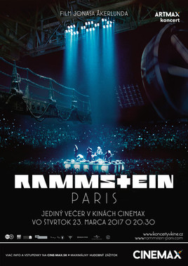 Artmax koncert: Rammstein v Paríži [CINEMAX 23.3.2017 o 20:30]