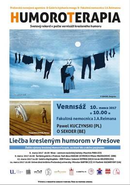 Humoroterapia: Pawel KUCZYNSKI (PL)  & O SEKOER (BE) [PO 10.3.2017 o 10:00]