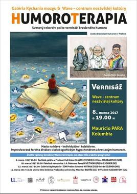 Humoroterapia: Mauricio PARA (CO) [Wave 8.3.2017 o 19:00]