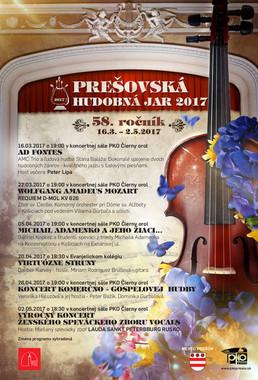 Prešovská hudobná jar 2017
