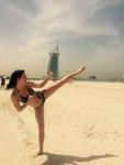 LUCIA LANGOŠOVÁ V DUBAJI