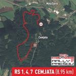 RS 1,4,7 Cemjata (8.95km)