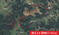 RS 2,5,8 Žipov (11,9Km)