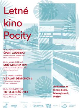 Letné kino Pocity [ 29.6.2017]