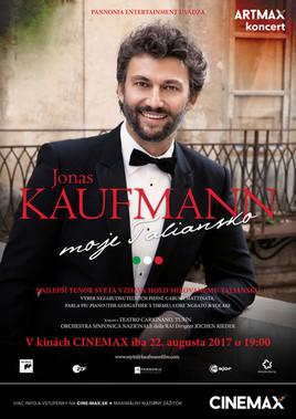 Jonas Kaufmann: Moje Taliansko [CINEMAX 22.8.2017 o 19:00]