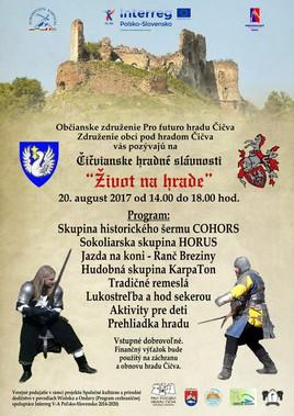 Život na hrade: Čičvianske hradné slávnosti