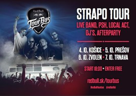 Red Bull Tour Bus [PO pred kostolom 5.10.2017 o 18:00]