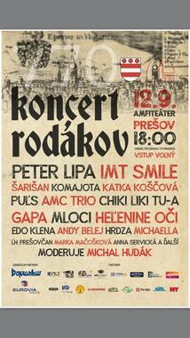 Koncert rodákov [ 12.9.2017 o 18:00]