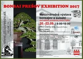 Bonsai Prešov Exhibition 2017 [PKO 20.9.2017 o 09:00]