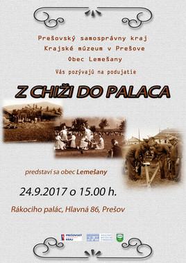 Z chiži do palaca: obec Lemešany [Krajské Múzeum 24.9.2017 o 15:00]