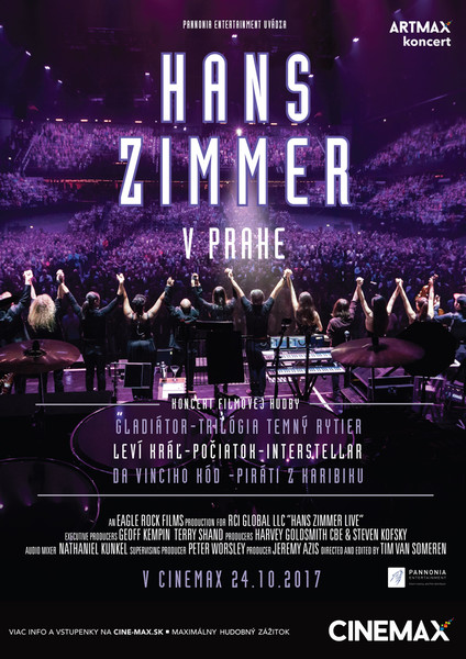 ab1d56865 Artmax koncert - HANS ZIMMER V PRAHE
