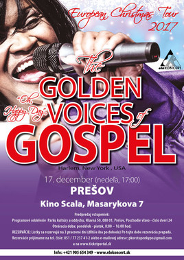 The Golden Voices of Gospel [SCALA 17.12.2017 o 17:00]