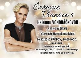 Čarovné Vianoce s Helenou Vondráčkovou [SCALA 16.12.2017 o 18:00]