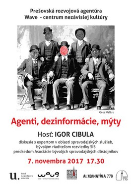 Agenti, dezinformácie, mýty [Wave 7.11.2017 o 17:30]