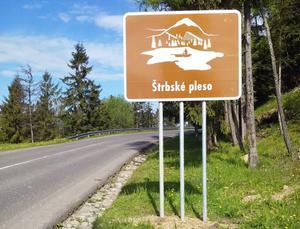 Štrbské Pleso - tabuľa