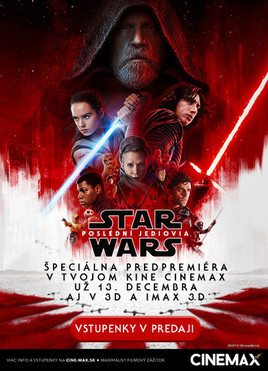 STAR WARS: Poslední Jediovia [CINEMAX 13.12.2017 o 19:30]