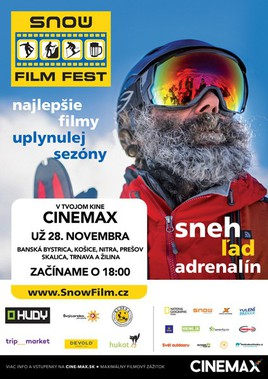 Snow film fest [CINEMAX 28.11.2017 o 18:00]