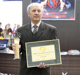 Peter Chudý - Osobnosť CR 2016 - ocenený za celoživotný prínos
