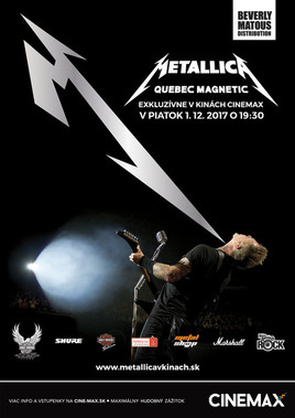Artmax koncert - Metallica Quebec Magnetic [CINEMAX 1.12.2017 o 19:30]