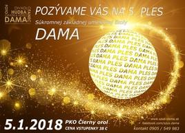 Ples SZUŠ DAMA [PKO 5.1.2018 o 19:00]