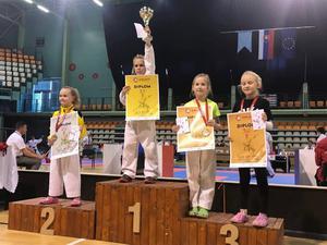 Sofia Halecká získala na KACHIKAN CUP 2017 zlatú medailu