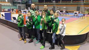 Tréneri Milan Lehotský a Radovan Greno s KARATE KIDS v Nitre na Kachikan Cup