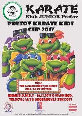 Prešov Karate Kids Cup 2017