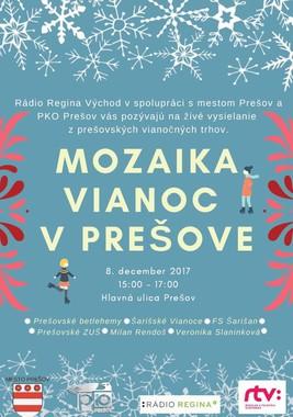 Mozaika Vianoc v Prešove