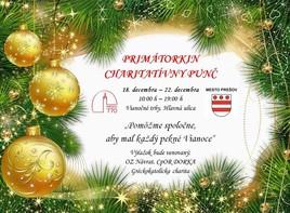 Primátorkin charitatívny punč [PO pešia zóna 18.12.2017 o 10:00]