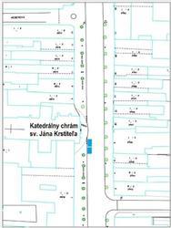 Určenie miest na státie vozidiel v zóne s dopravným obmedzením počas konania obradov
