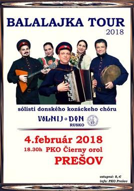 Balalajka tour 2018