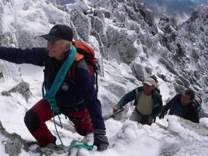 Pavel Rajtar - Pod vrcholom Gerlachu (zdroj Mesto Vysoke Tatry)