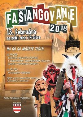 Prešovské Fašiangovanie 2018