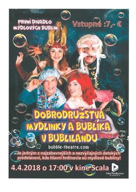 Dobrodružstvá Mydlinky a Bublíka v Bublilandu