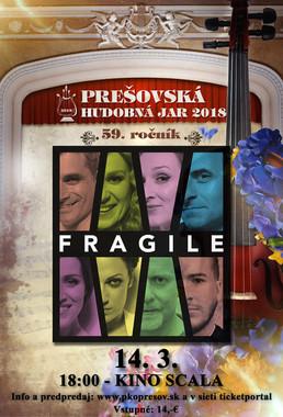 Prešovská hudobná jar 2018: Fragile