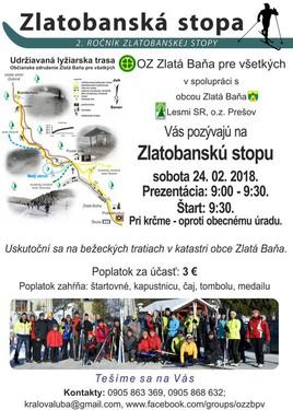 Zlatobanská stopa [iné 24.2.2018 o 09:00]