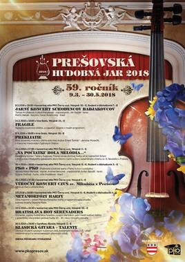 Prešovská hudobná jar 2018 [PO 25.4.2018 o 17:30]
